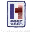 Humboldt Police Department Patch