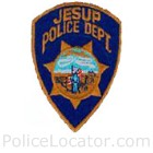 Jesup Police Department Patch