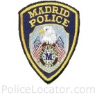 Madrid Police Department Patch