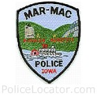 Mar-Mac Police Department Patch