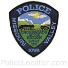 Missouri Valley Police Department Patch