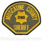 Muscatine County Sheriff's Office Patch