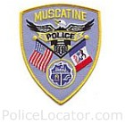 Muscatine Police Department Patch