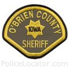 O'Brien County Sheriff's Office Patch