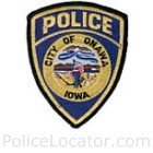 Onawa Police Department Patch
