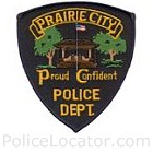 Prairie City Police Department Patch