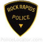 Rock Rapids Police Department Patch