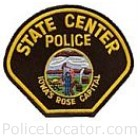 State Center Police Department Patch