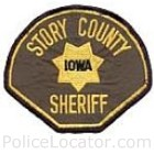 Story County Sheriff's Office Patch