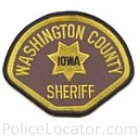 Washington County Sheriff's Department Patch