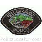 Belgrade Police Department Patch