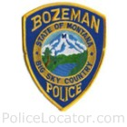Bozeman Police Department Patch