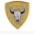 Custer County Sheriff's Office Patch