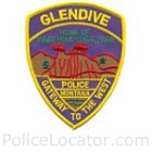 Glendive Police Department Patch