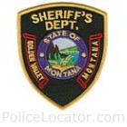 Golden Valley County Sheriff's Office Patch