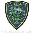 Great Falls Police Department Patch