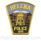 Helena Police Department Patch