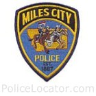 Miles City Police Department Patch
