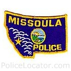 Missoula Police Department Patch