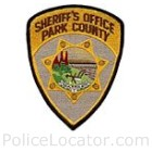 Park County Sheriff's Office Patch