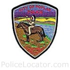 Poplar Police Department Patch