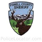 Powell County Sheriff's Office Patch