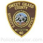 Sweet Grass County Sheriff's Office Patch