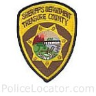 Treasure County Sheriff's Department Patch