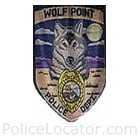 Wolf Point Police Department Patch