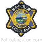 Barber County Sheriff's Office Patch