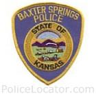 Baxter Springs Police Department Patch