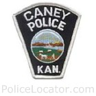 Caney Police Department Patch