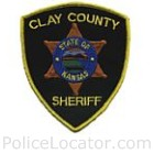 Clay County Sheriff's Office Patch