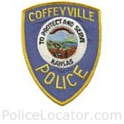 Coffeyville Police Department Patch