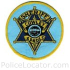 Cowley County Sheriff's Office Patch
