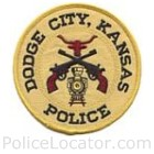 Dodge City Police Department Patch