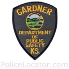 Gardner Department of Public Safety Patch