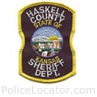 Haskell County Sheriff's Department Patch
