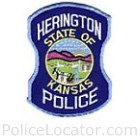 Herington Police Department Patch