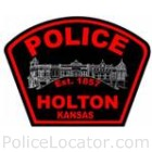 Holton Police Department Patch