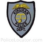 Kingman Police Department Patch