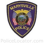Marysville Police Department Patch