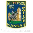 McPherson Police Department Patch
