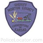 Morton County Sheriff's Office Patch