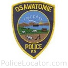 Osawatomie Police Department Patch