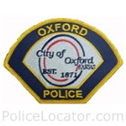 Oxford Police Department Patch