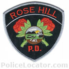Rose Hill Police Department Patch