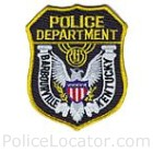 Barbourville Police Department Patch
