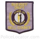 Bell County Sheriff's Department Patch