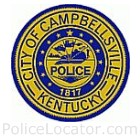 Campbellsville Police Department Patch